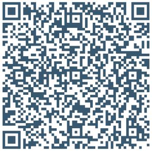 Scan deze code om de contactinformatie meteen op uw telefoon te zetten