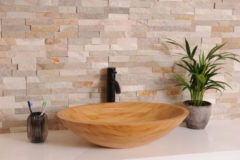Minnor Fastuosa waskom bamboe 60x40x14.6cm thumbnail